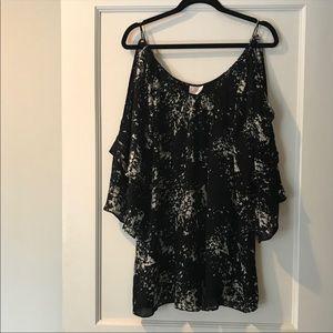 Parker Open Sleeve Mini Dress